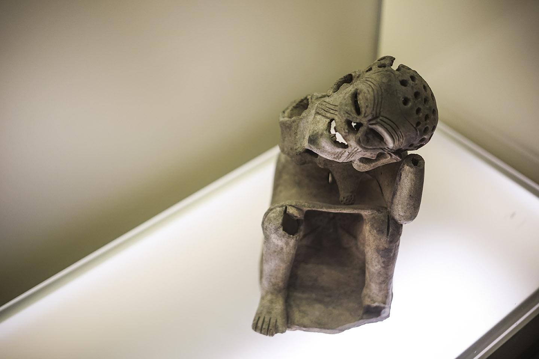 Creepy stuff in Museo de Oro