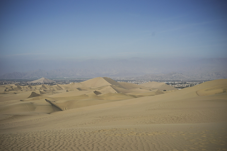 Dunes outside Huacachina