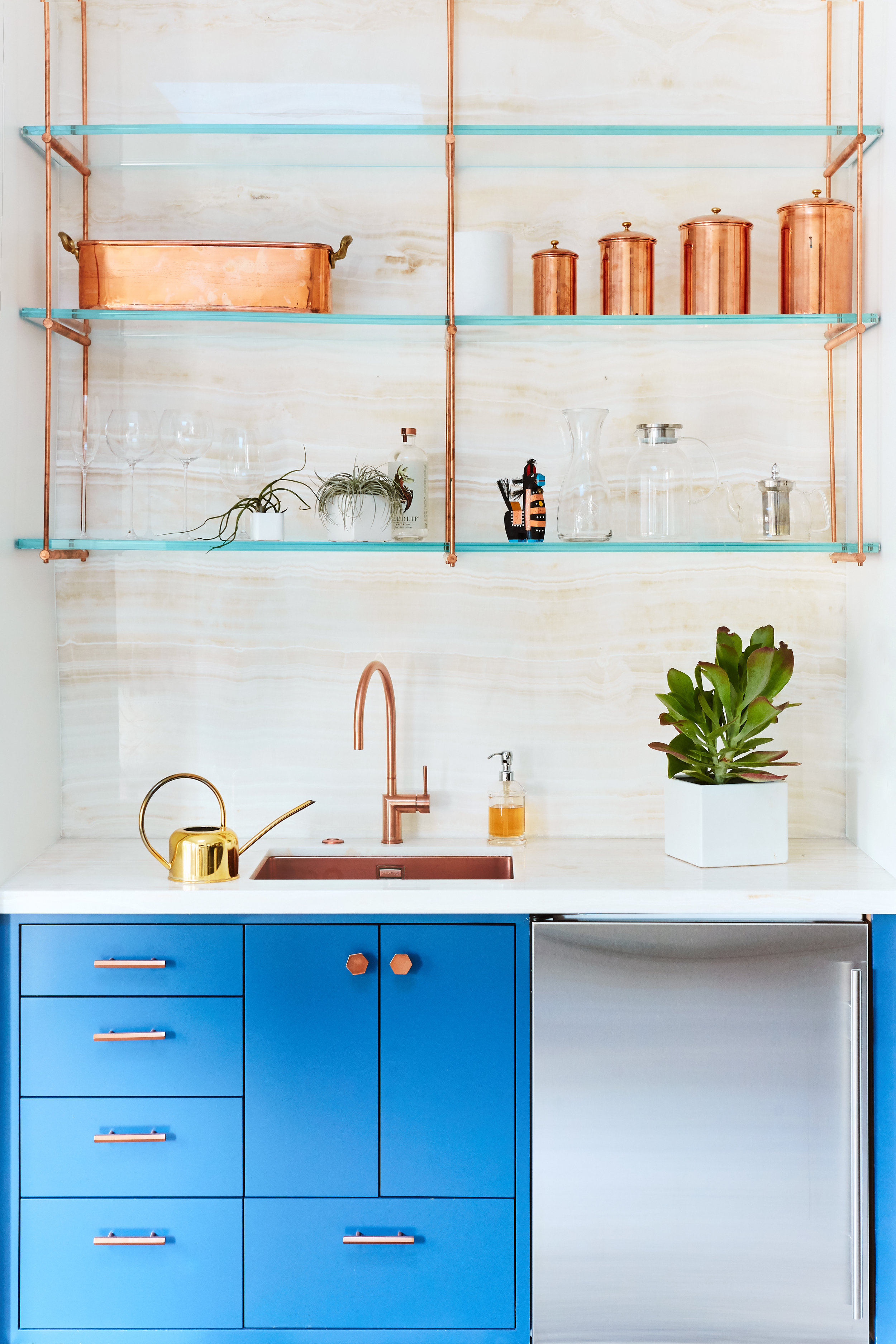 Noz Design - Pac Heights House with a Roof - Copper kitchenette.jpg