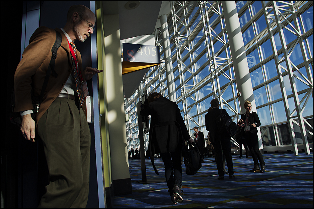 Chicago, IL - General views during the American Heart Associations Scientific Sessions being held here at the McCormick Convention Center. Scientific Sessions is the leading cardiovascular meeting for basic, translational, clinical and population science, in the United States, with more than 18,000 cardiovascular experts from over 105 countries attending the meeting. Photo by © AHA/Brian Powers 2014 Technical Questions: todd@medmeetingimages.com