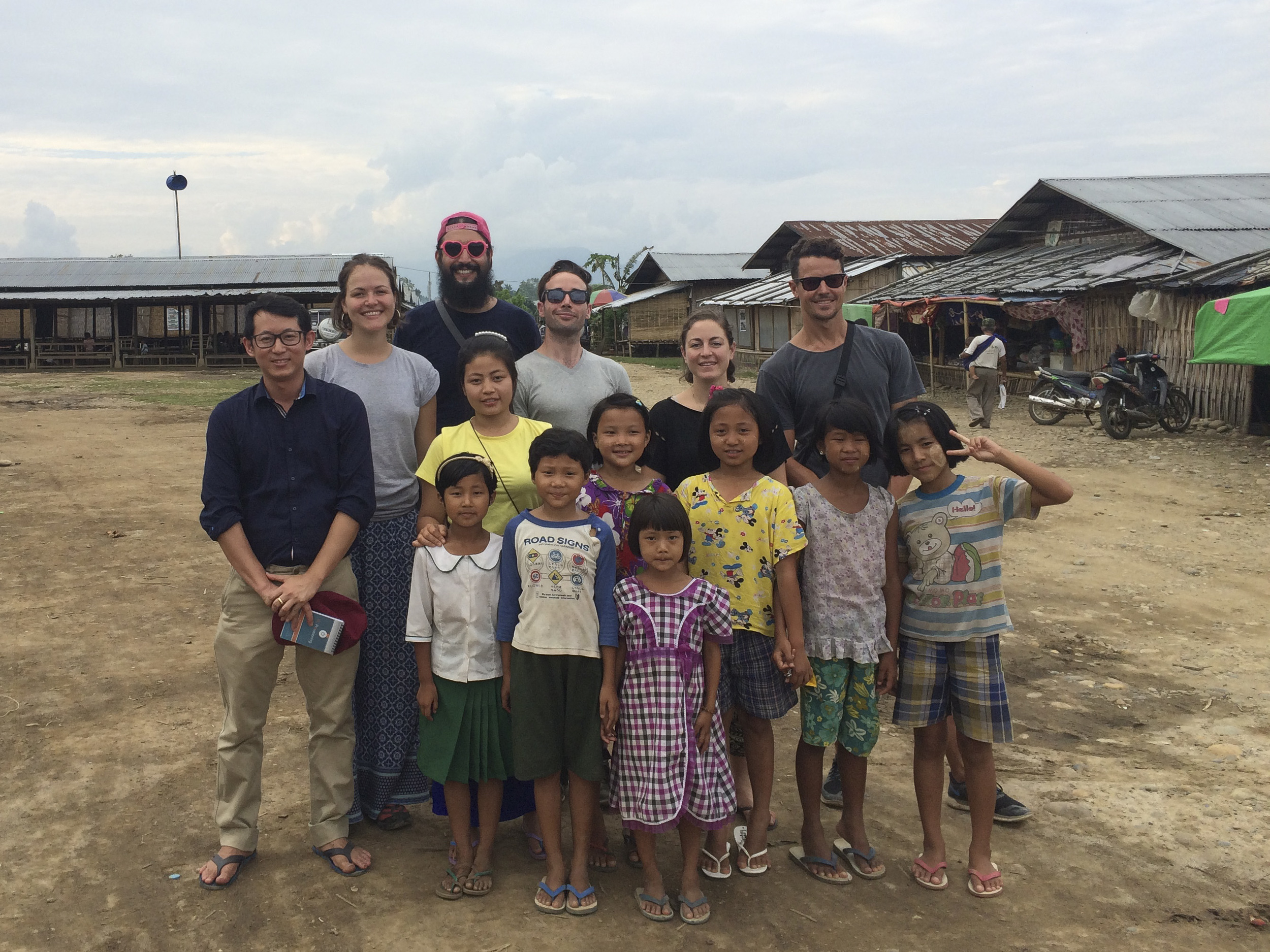 End of filming in northern Kachin State, Myanmar.