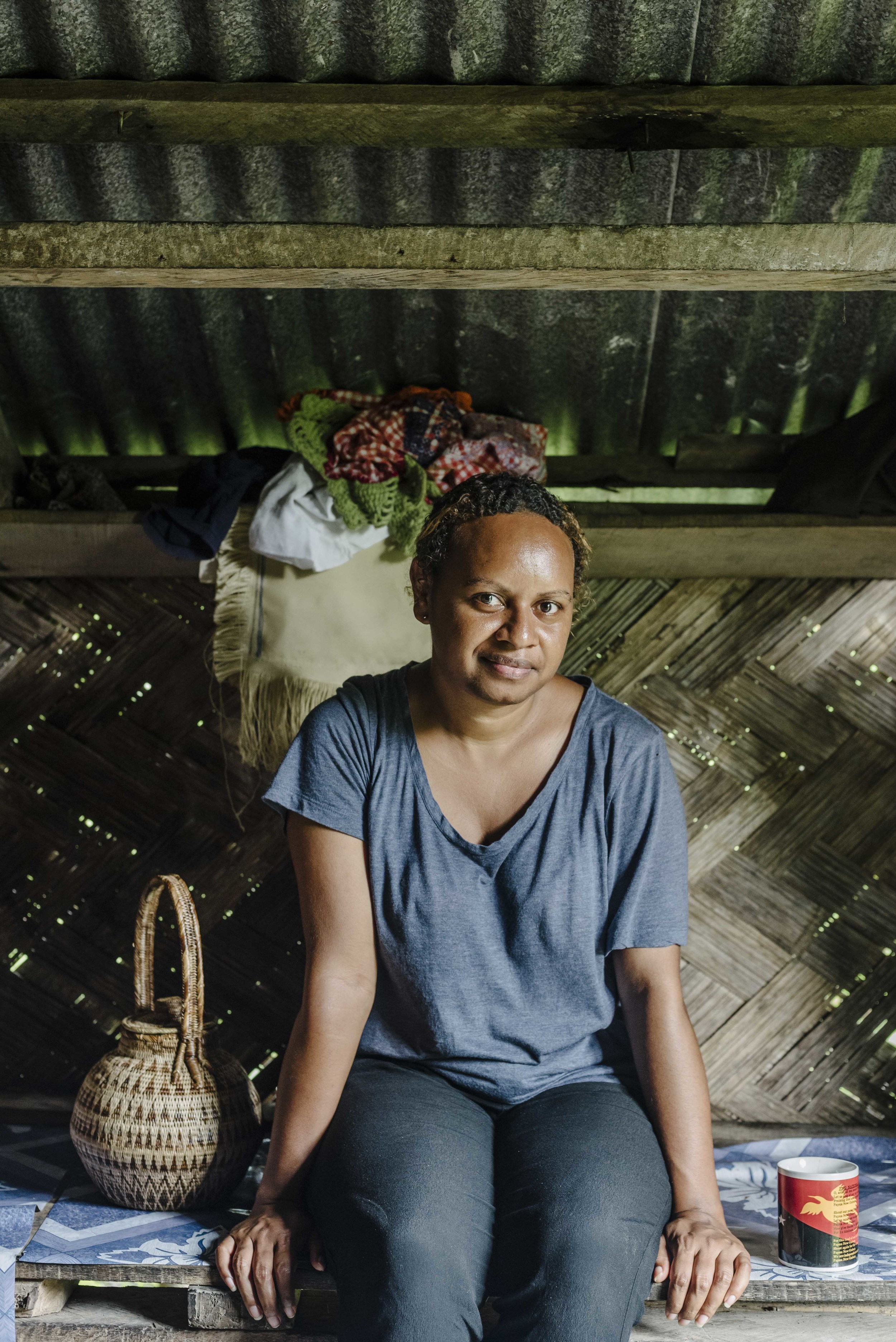 Ruth. Fixer extraordinaire. Bougainville, PNG.