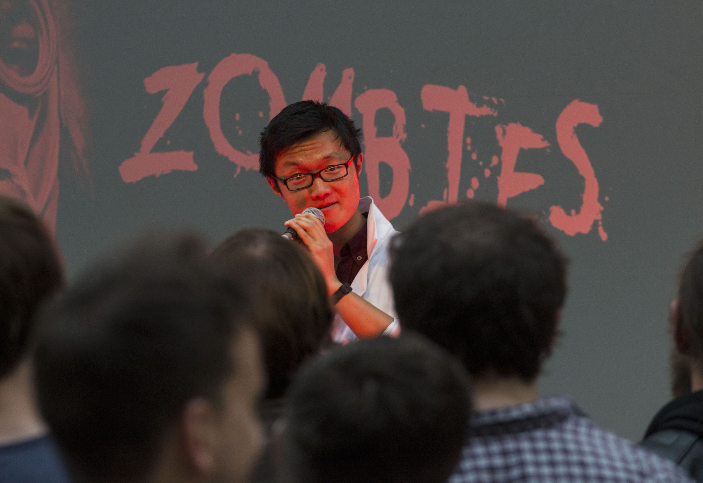 Serious Briefing for the Zombie Epidemic at the National Museum Scotland, Photo Credit: Ian Jacobs.