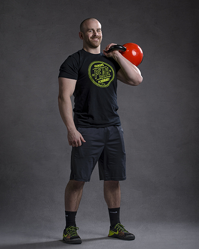 Trainer Jordan Atwell