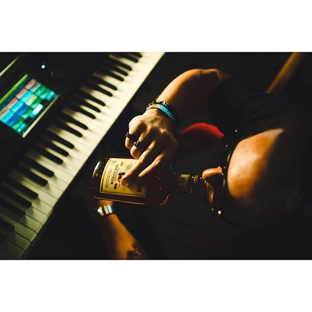 Keyboards + Rum  #mpls #minneapolis #neminneapolis #MN #recordingstudio #musicproducer #plnemode