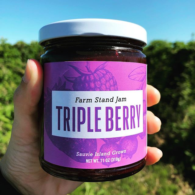 Back for a limited time: our very own JAM! Many of you know, Diane and I (Megan 🙋🏻♀️) make jams using our farm-grown berries and family recipes. These are sold exclusively in our market for $7.00/jar. This year we have Raspberry, Marionberry, Triple Berry (strawberry, raspberry, and blueberry), and our top seller: Marionberry Jalapeño! ✨ ✨ In berry news, this heat hasn't been great for our boysens, marions, and raspberries. They are sparse and showing signs of sunburn ☀️ We have limited quantities of u-pick blueberries and triple crown blackberries. We still have a lot of blues/blackberries that are green so the sun should help them ripen up! ✨ Hours starting July 28th: 9am-5pm, Friday - Sunday CLOSED Monday - Thursday ❤️NO ANIMALS ALLOWED❤️ U-pick rasp/blue/boysen/marion/black berries: $2.50/pound Pre-picked blueberries: $4.00/pound • • #columbiafarms #columbiafarmsupick #sauvieisland #pickyourown #raspberries #blueberries #boysenberries #marionberries #blackberries