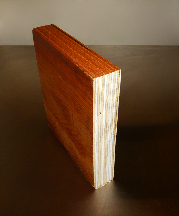 """LVL (laminated veneer lumber) beams are becoming more and more common in residential and commercial construction. This type of beam is very strong because it consists of the best fibers of a tree and, because of the laminated ply makeup (the plies are shaved from a tree, adhered together, pressed and baked), there are no knots that transmit through the entire member. Knots are weak spots in conventional lumber that you buy at the lumber store. A 2x10 LVL (actually 1 ¾""""x9 ¼"""") is about twice as strong as standard 2x10! But beware… most LVL's cannot be used outside because they drink up the water which degrades the wood and the adhesives. I have designed many repairs for moisture damaged LVL's that were not installed with the proper protection. Call us to help you plan properly ahead of time instead of calling us to help you fix a problem after the fact!"""