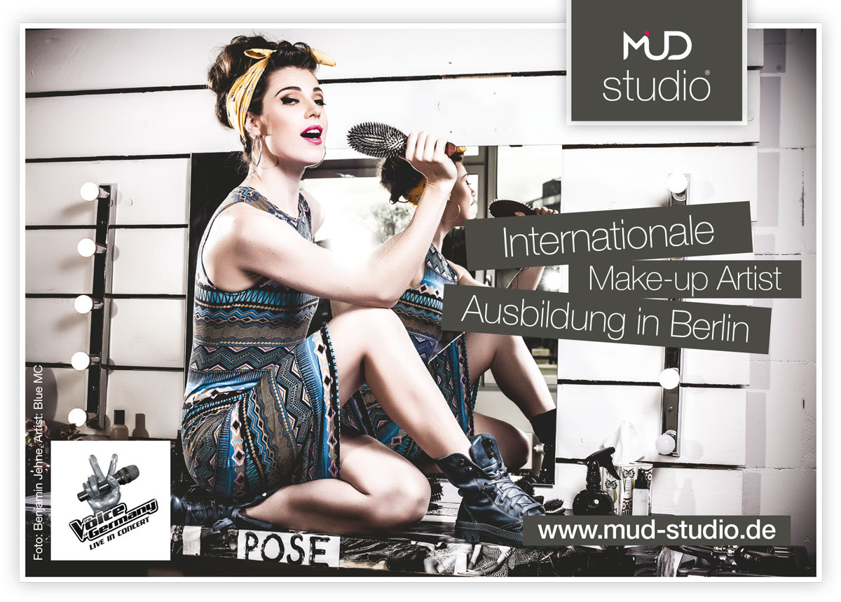 Blue MC for MUD Studio Berlin, Photo: Benjamin Jehne