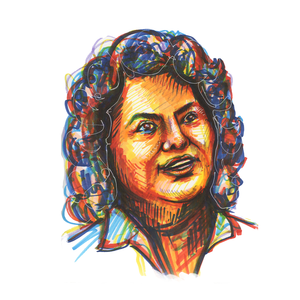berta2 Berta Cáceres, in memory of the Honduran activist