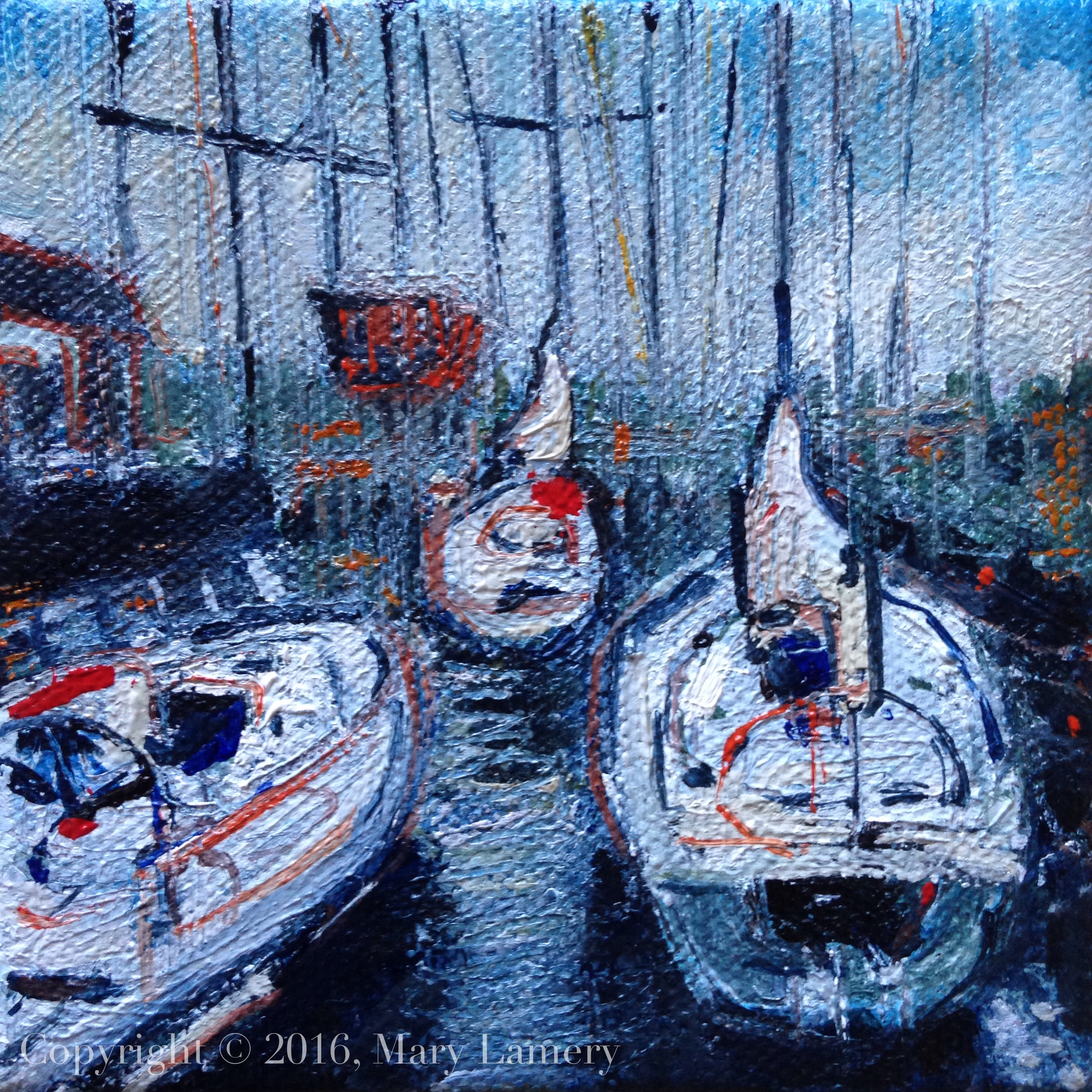 Sailboats queued up in the locks.jpg