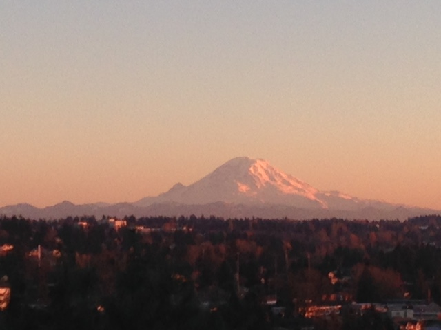 Mount Rainier. November 2015. Photographe, M. Lamery