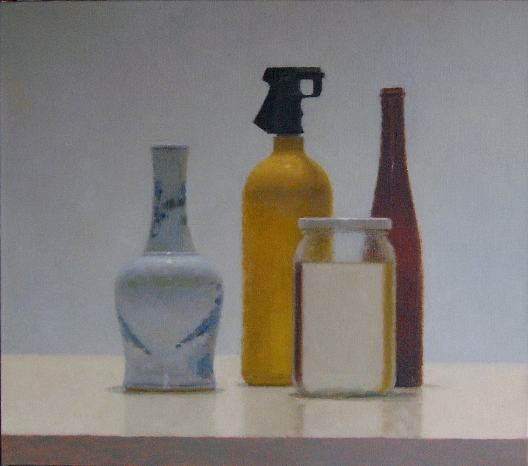 SL264, 2010, Oil on canvas, 760mm x 860mm