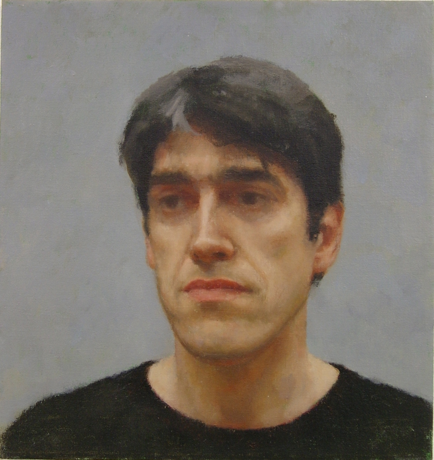 Portrait of David, 2004, Oil on linen, 400mm x 375mm.