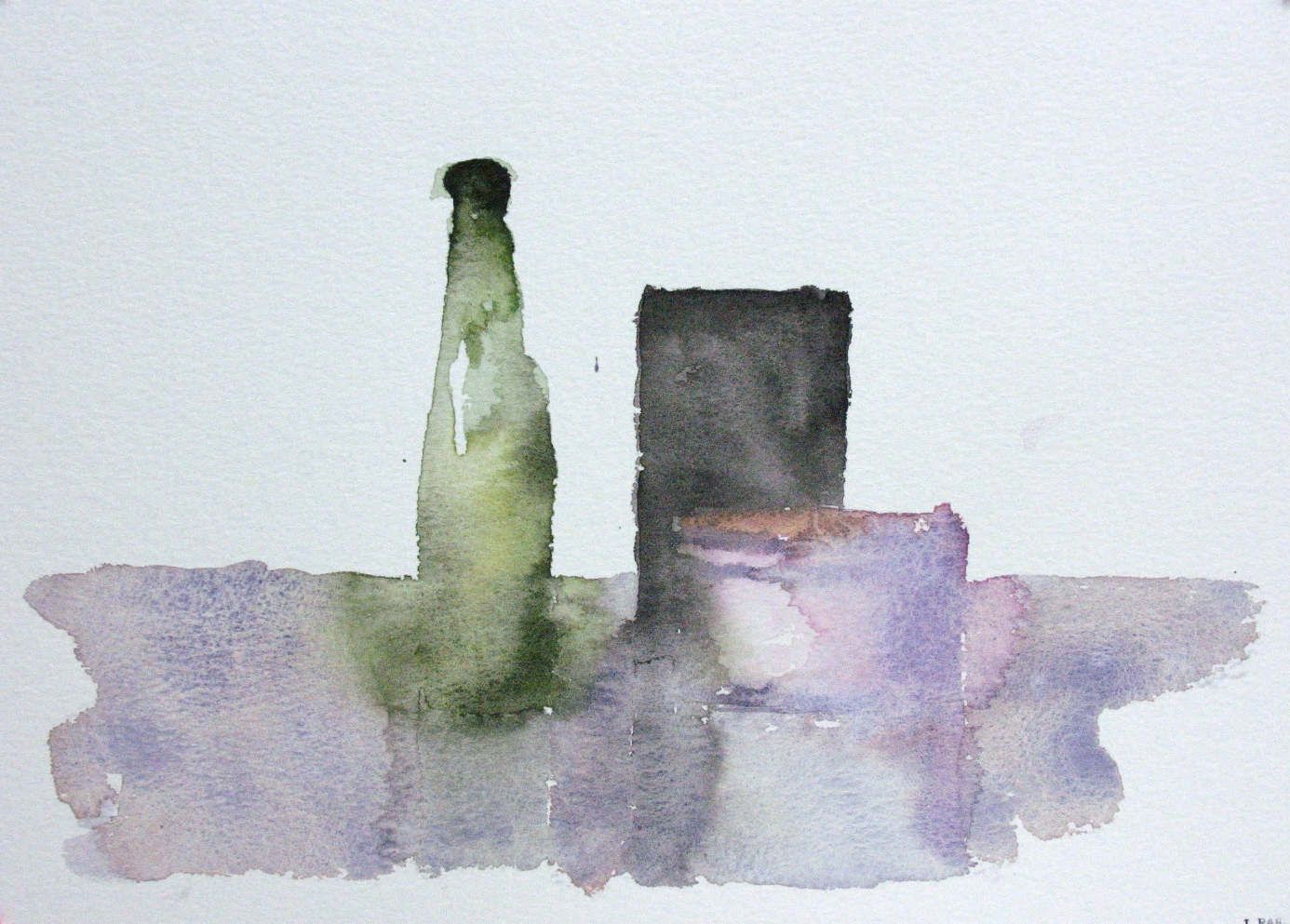 WCSL110, 2010, water colour on paper, 38 x 29cm.