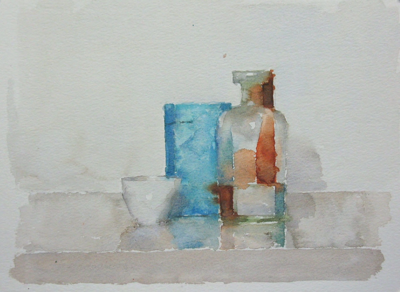 WCSL111, 2010, water colour on paper, 38 x 29cm.