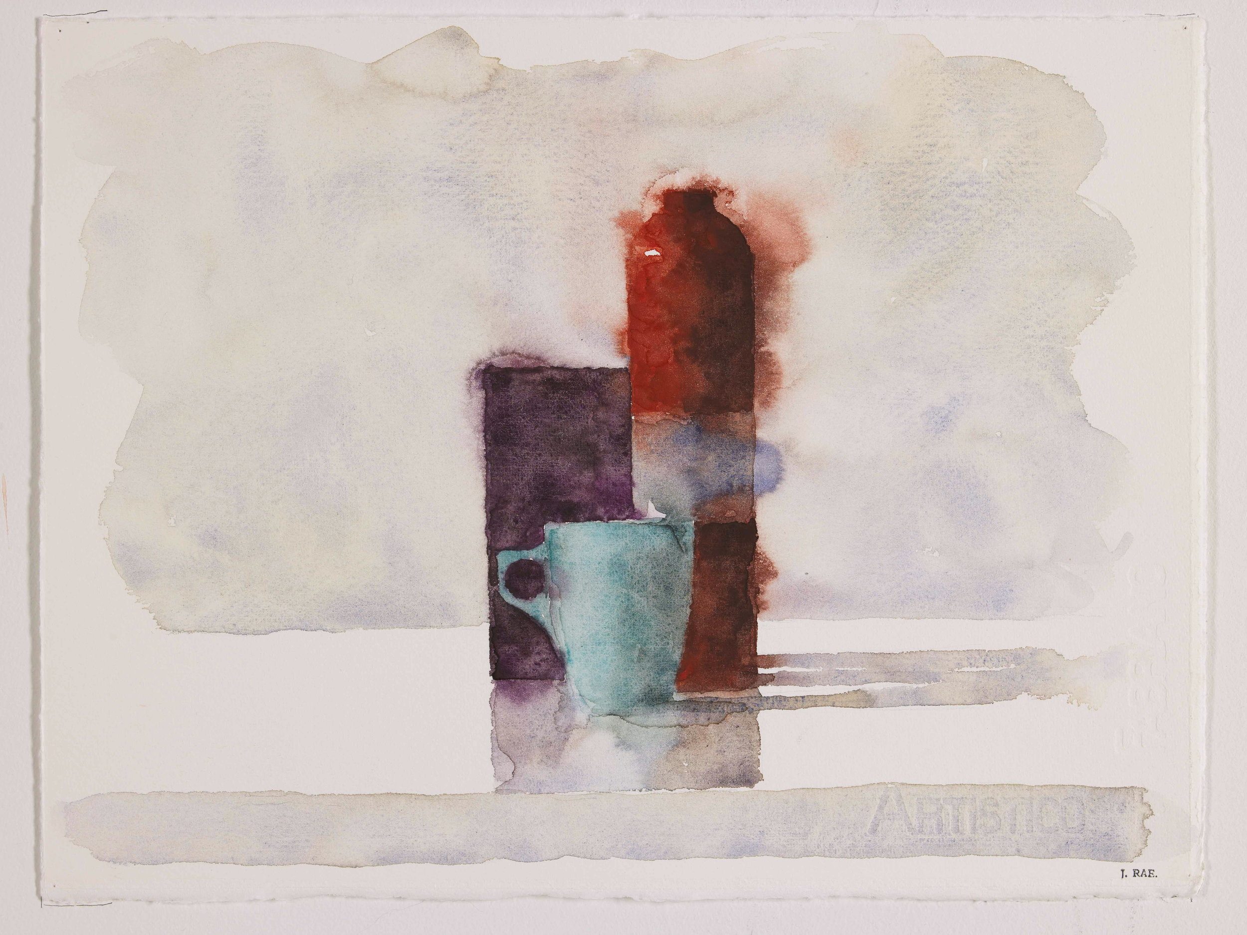 WCSL120, 2010, water colour on paper, 38 x 29cm.