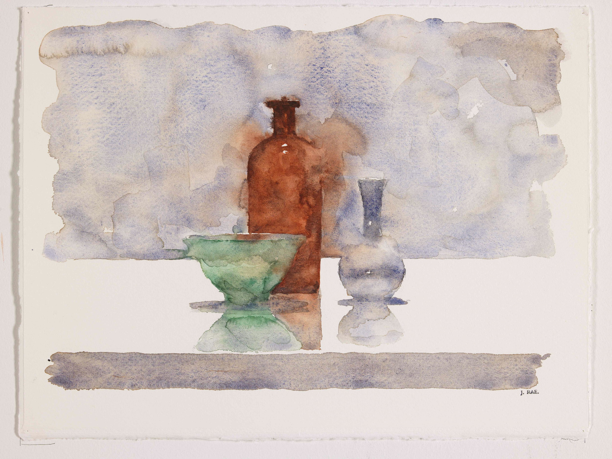 WCSL121, 2010, water colour on paper, 38 x 29cm.
