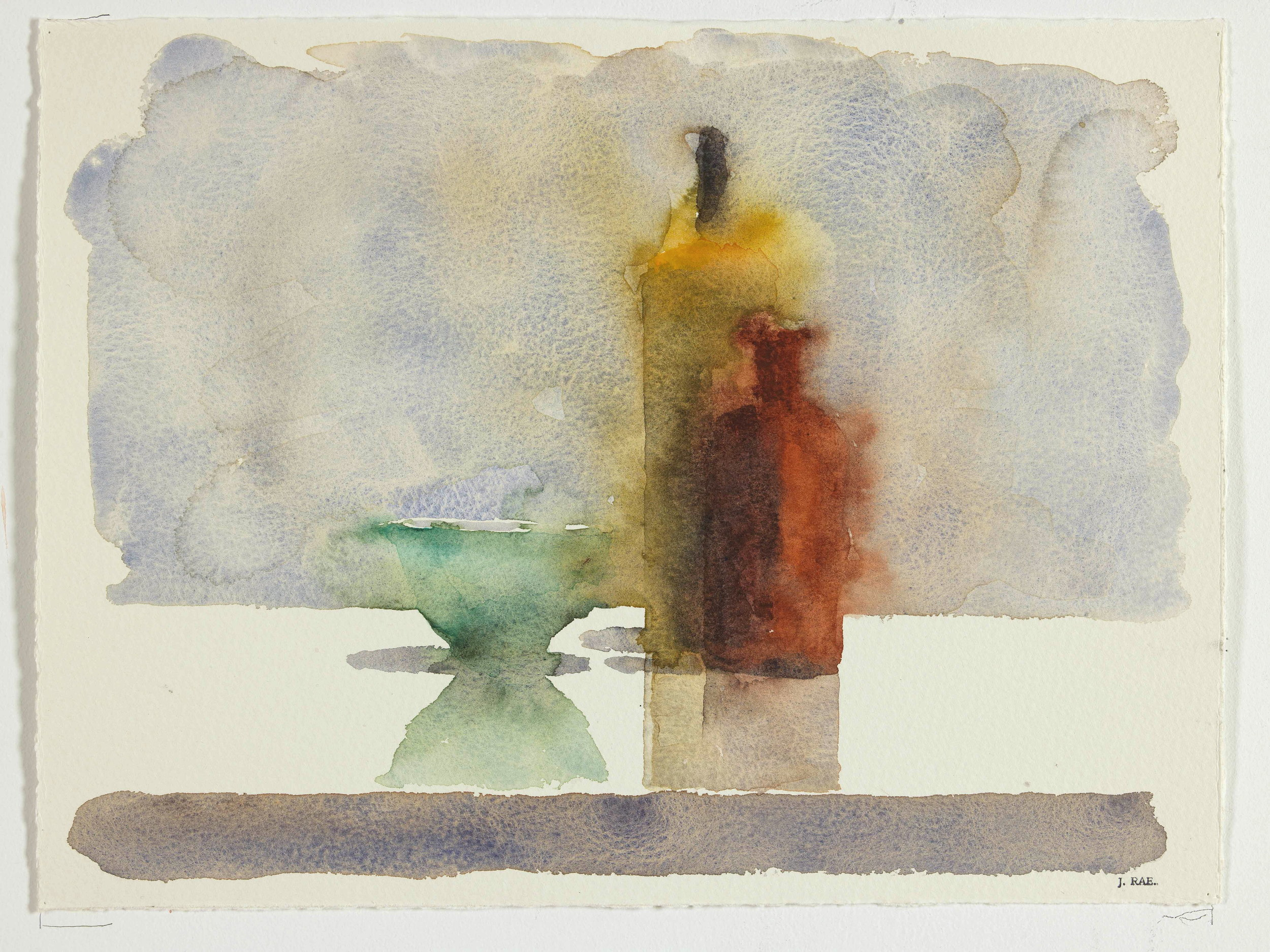 WCSL119, 2010, water colour on paper, 38 x 29cm.