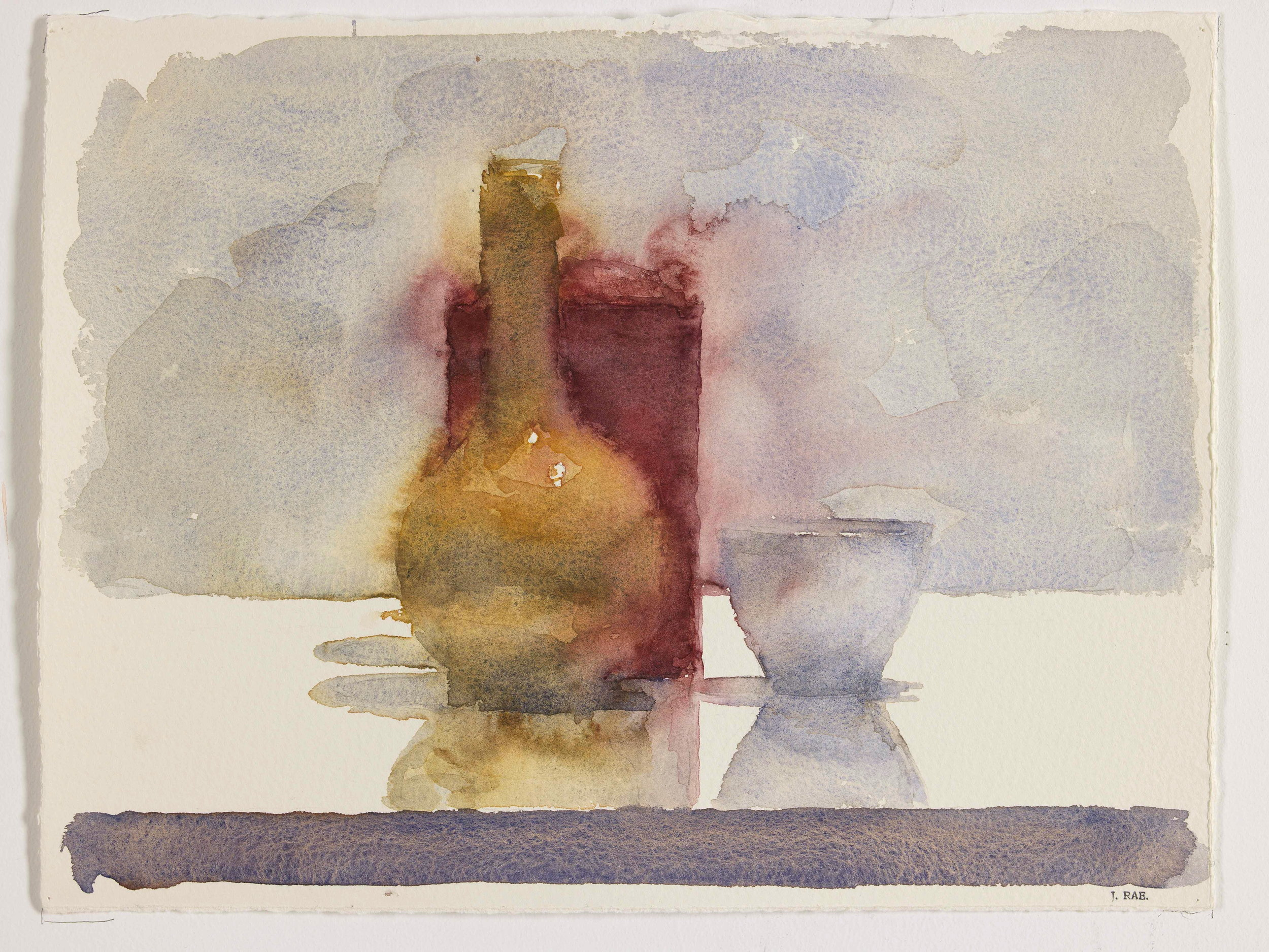 WCSL115, 2010, water colour on paper, 38 x 29cm.