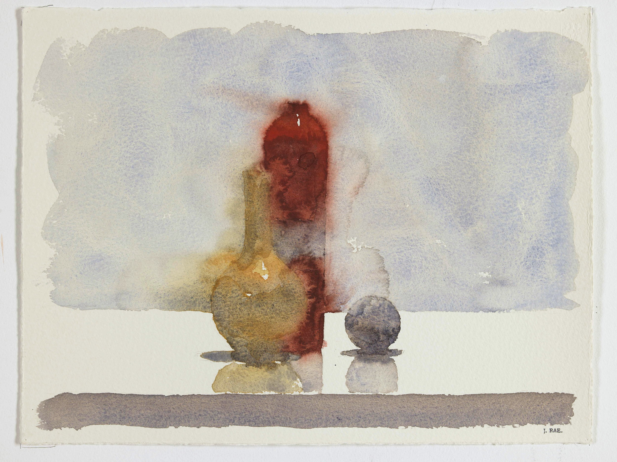 WCSL112, 2010, water colour on paper, 38 x 29cm.
