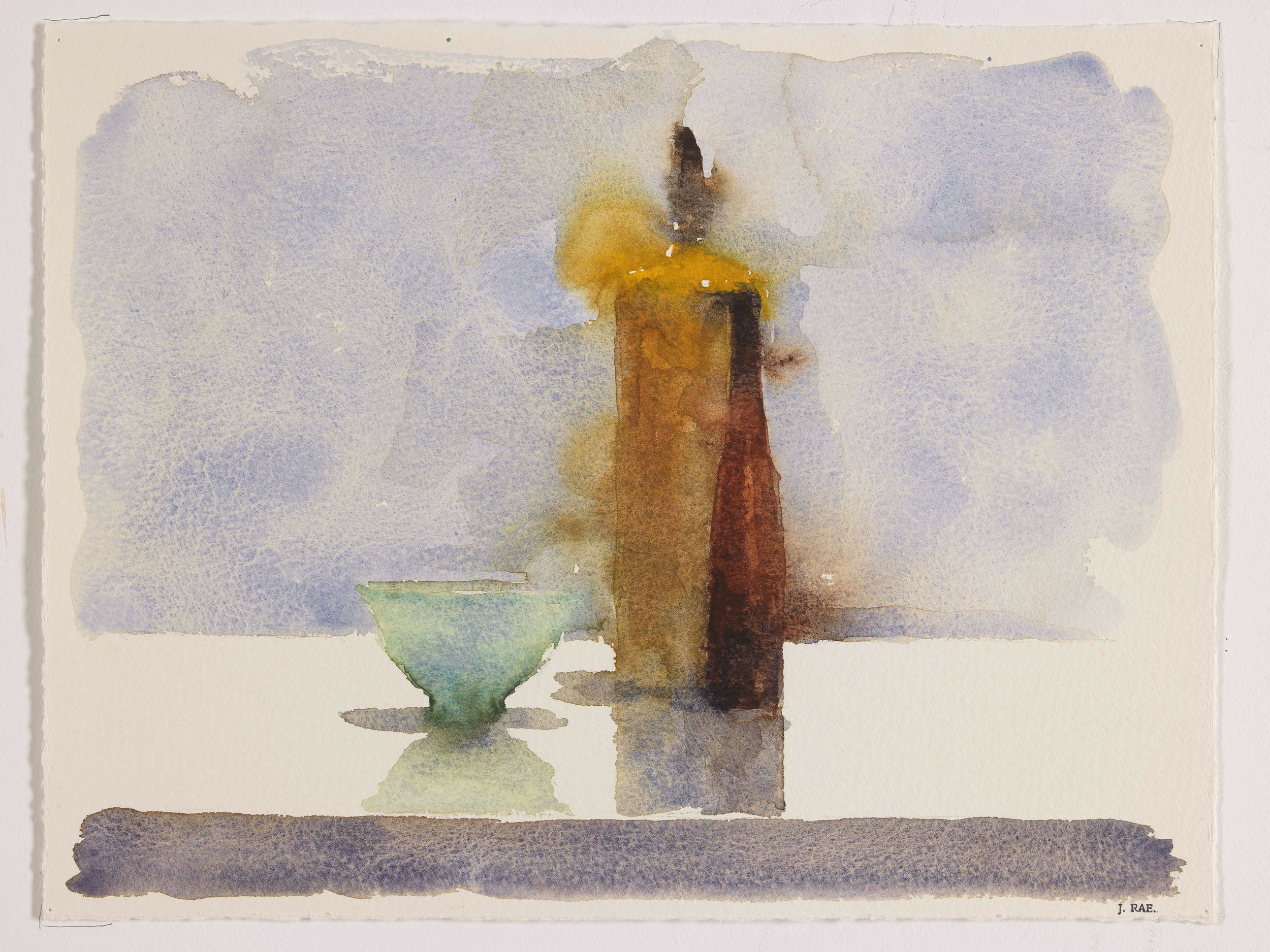 WCSL117, 2010, water colour on paper, 38 x 29cm.