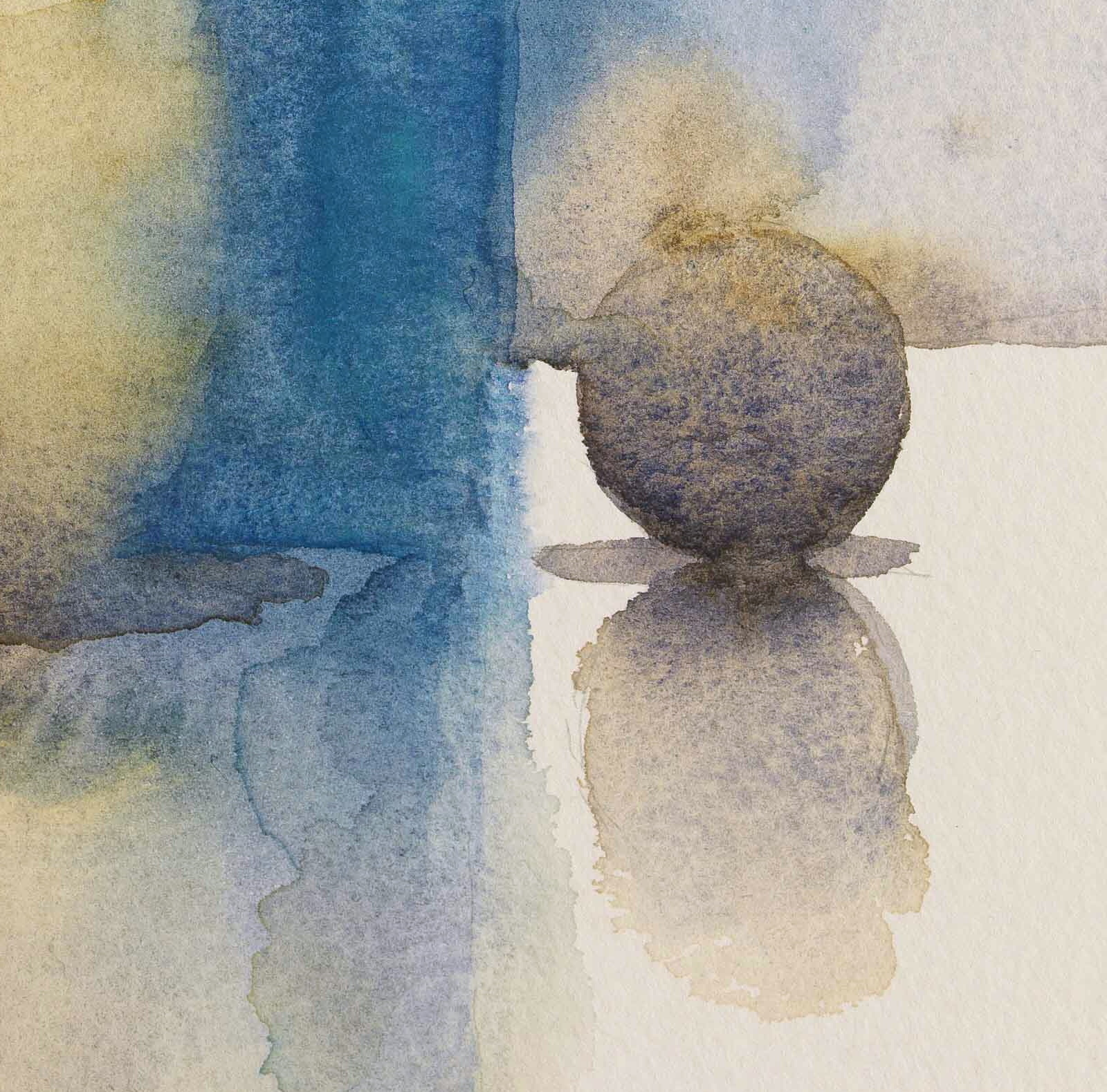 WCSL125 (detail), 2010, water colour on paper, 38 x 29cm.