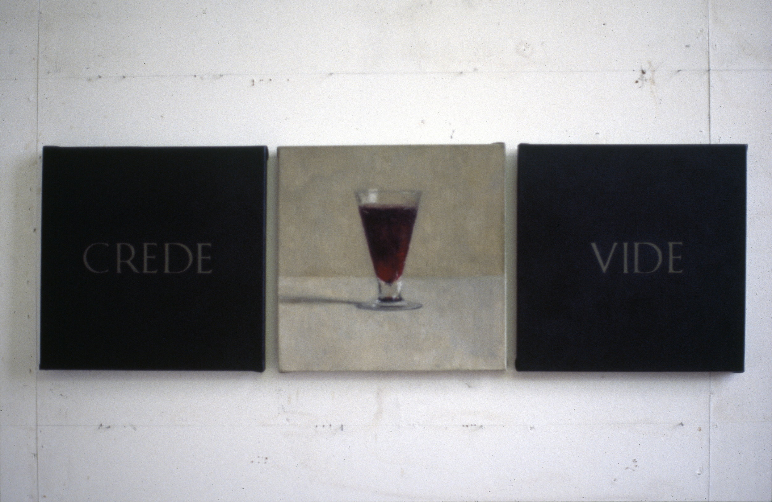 Crede Vide (You see what you believe), 1990.jpg