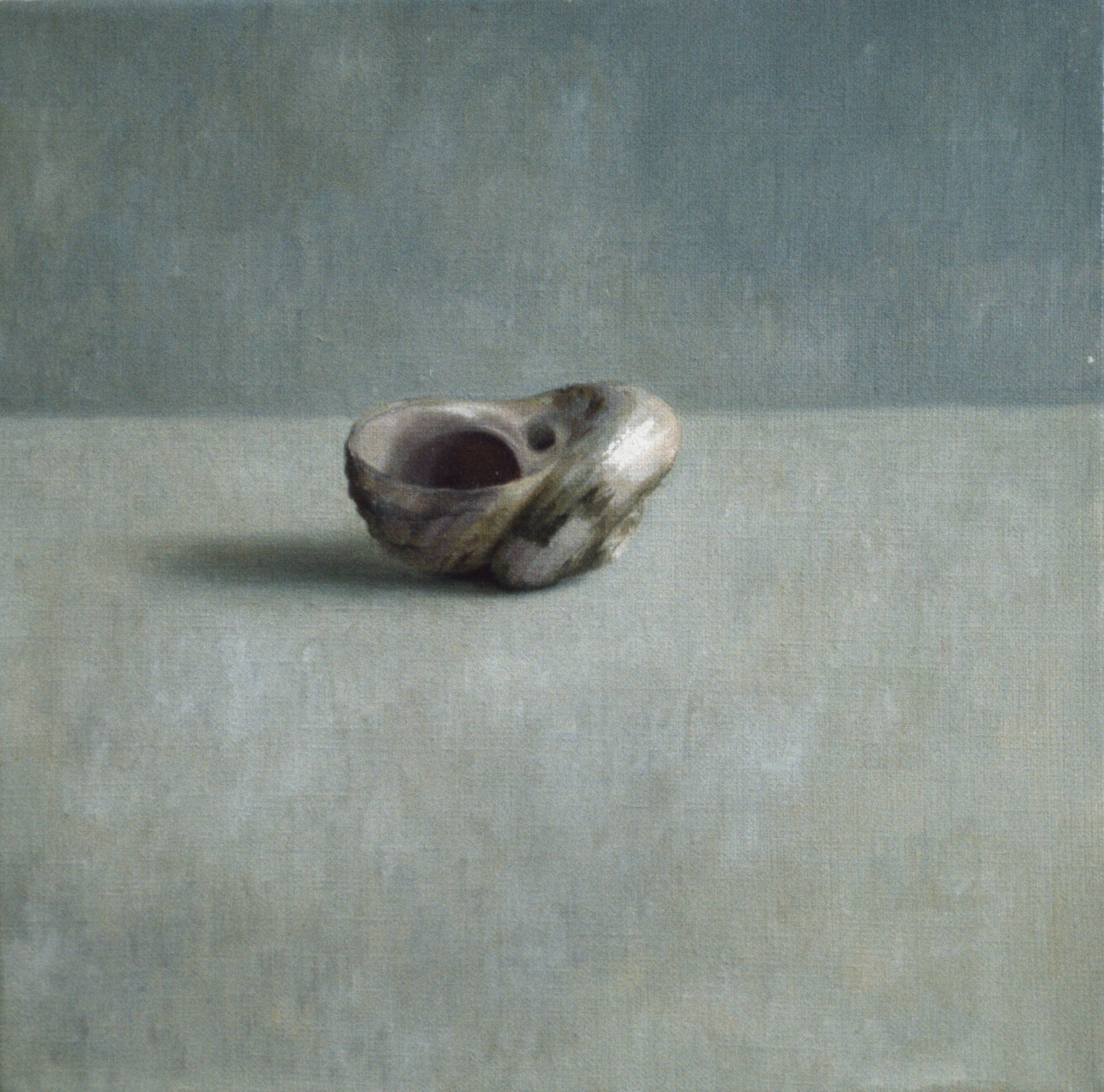 Shell, 1989, oil on linen, 300 x 300mm