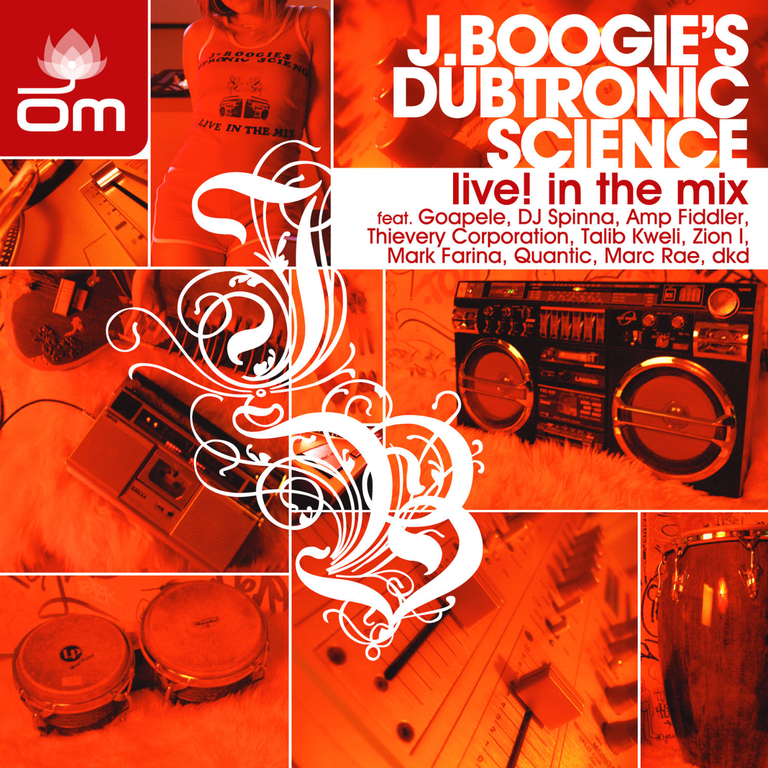 Various Artists - Live! In The Mix