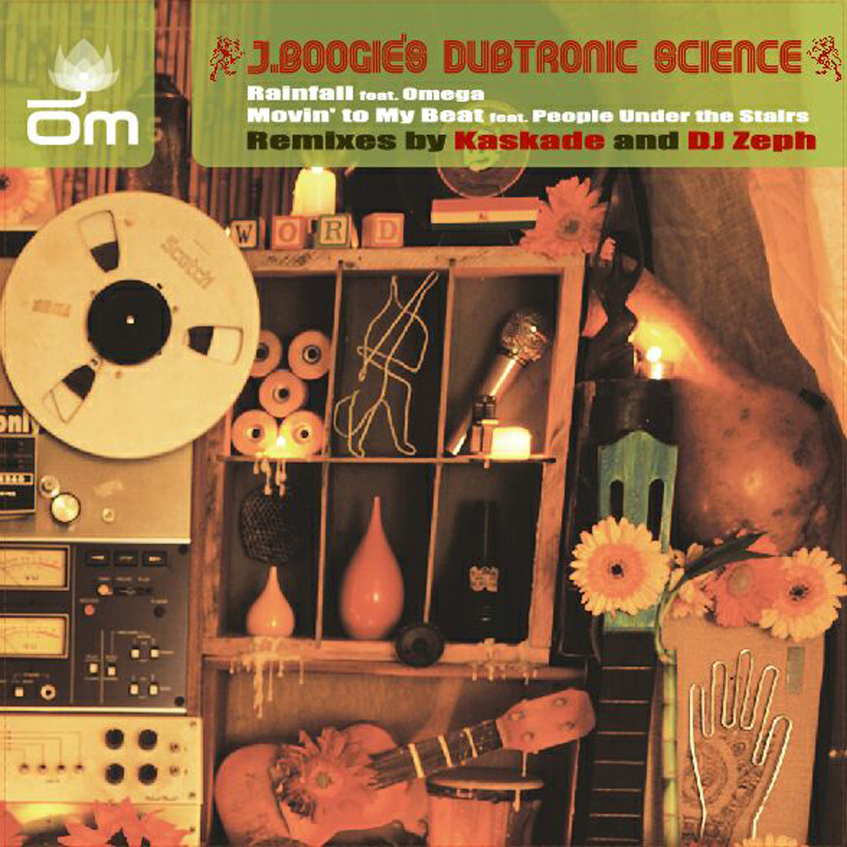 J Boogie's Dubtronic Science - Rainfall + Movin' to My Beat