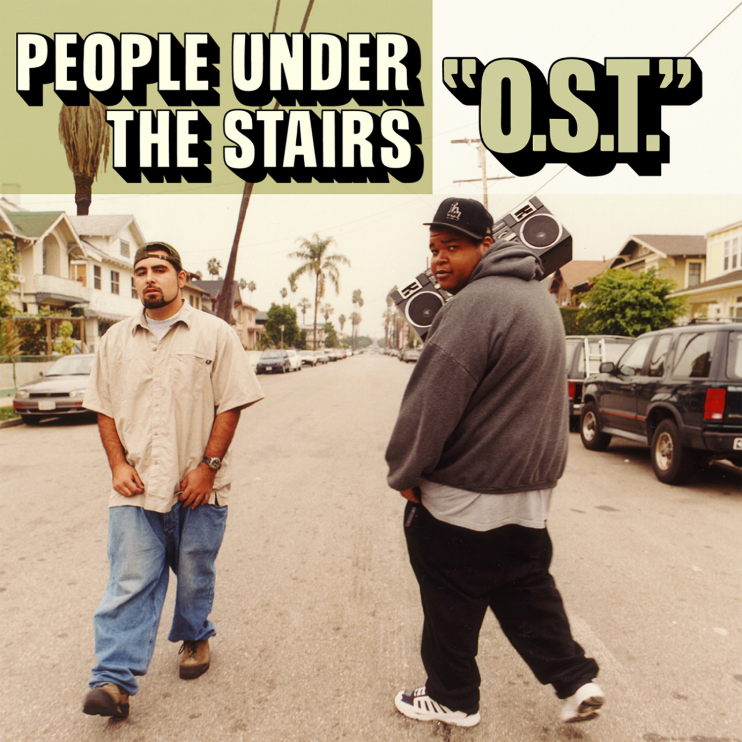 """People Under The Stairs - """"O.S.T"""""""