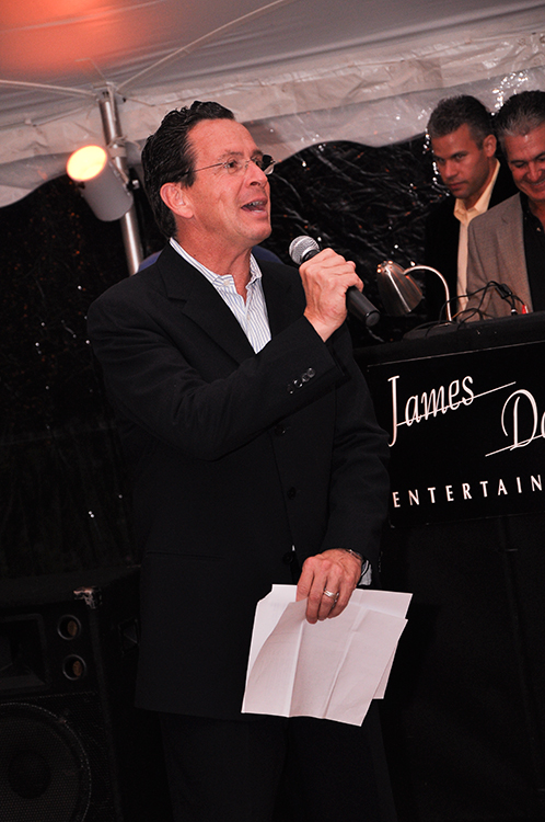 Stamford Mayor at the date of the event (2009) and current Connecticut Governor  (2011-) Dannel Malloy