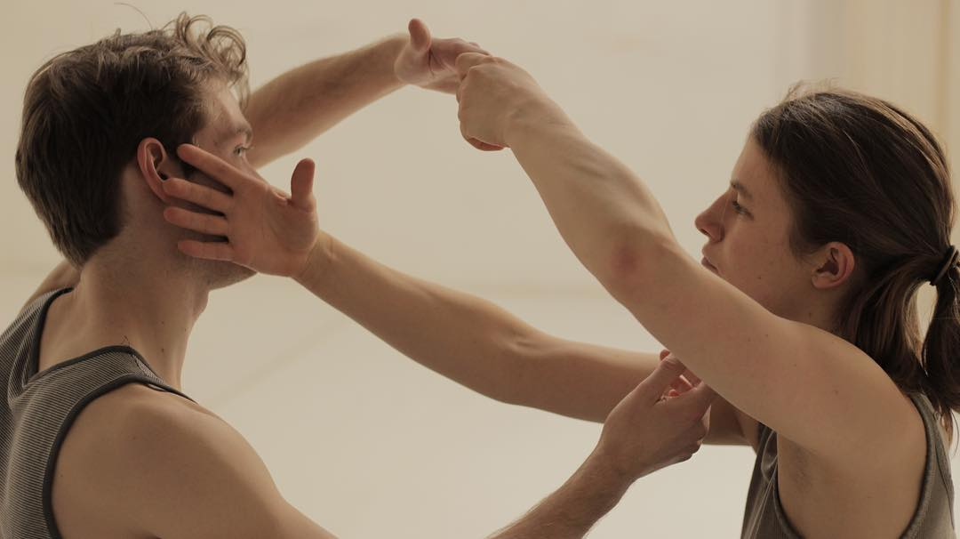 Film Still of Danielle Russo Performance Project by Luke Ohlson as part of LEIMAY Fellowship Program
