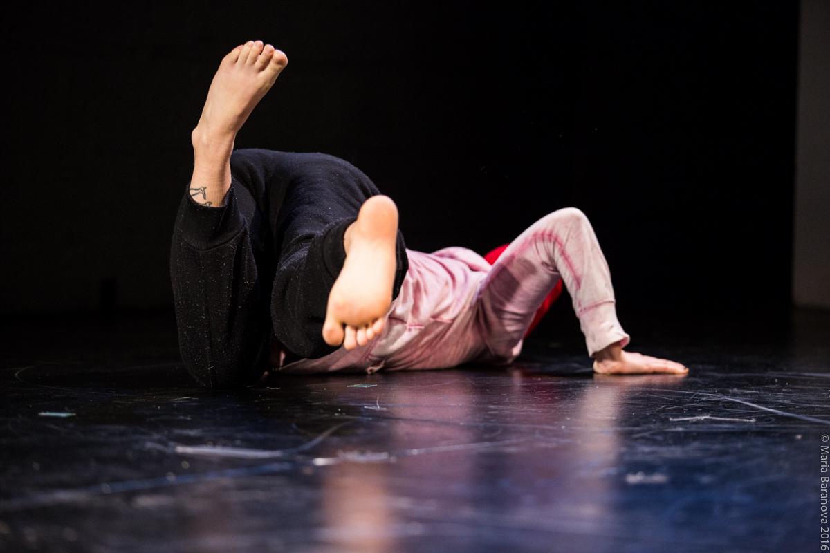 Katie Dean  FAB x TCS Dance Salon, March 2016   Image: Maria Baranova