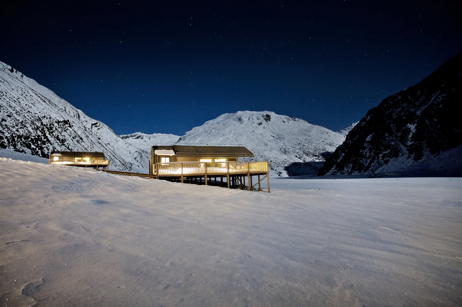Minaret Station, family owned and operated since 1910, is so remote in the Southern Alps that access is only by helicopter.       Read more...