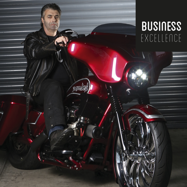 Pinstripe to Leather - When corporate warriors hit the highway