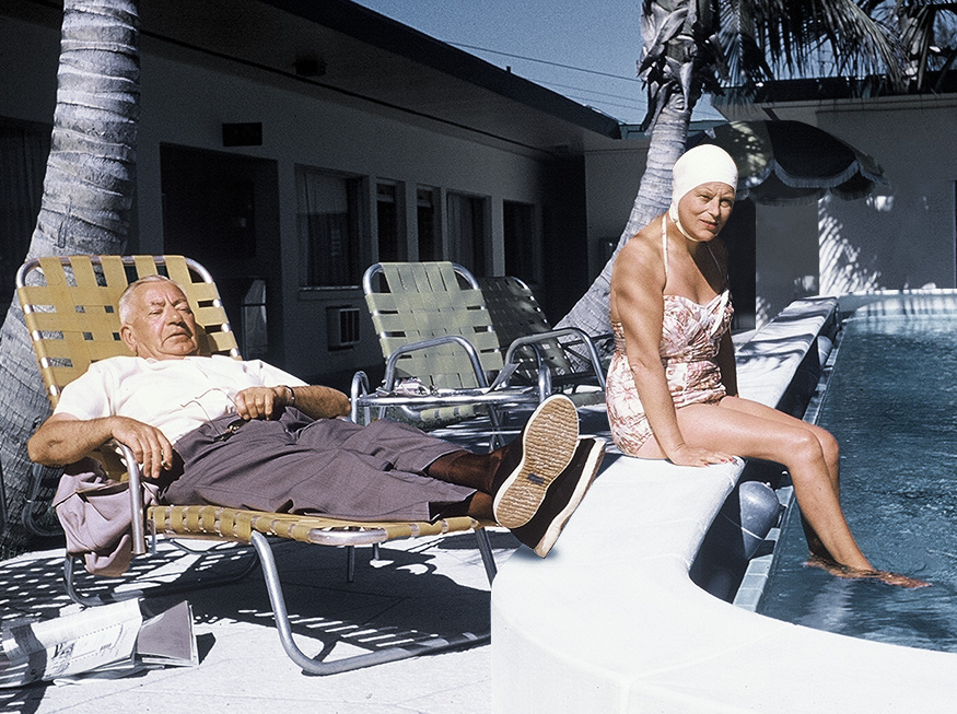 Harold & Ethel had very different philosophiesfor their post training recovery
