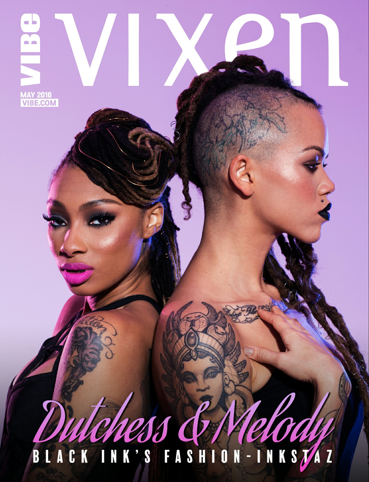 All photos by  Katie Piper  for  Vibe Vixen + VH1
