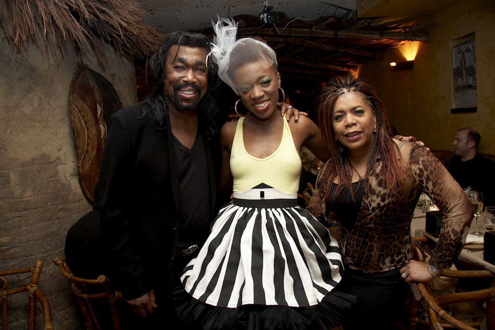 Nick Ashford, Kimberly Nichole & Valerie Simpson at her listening party, 2010
