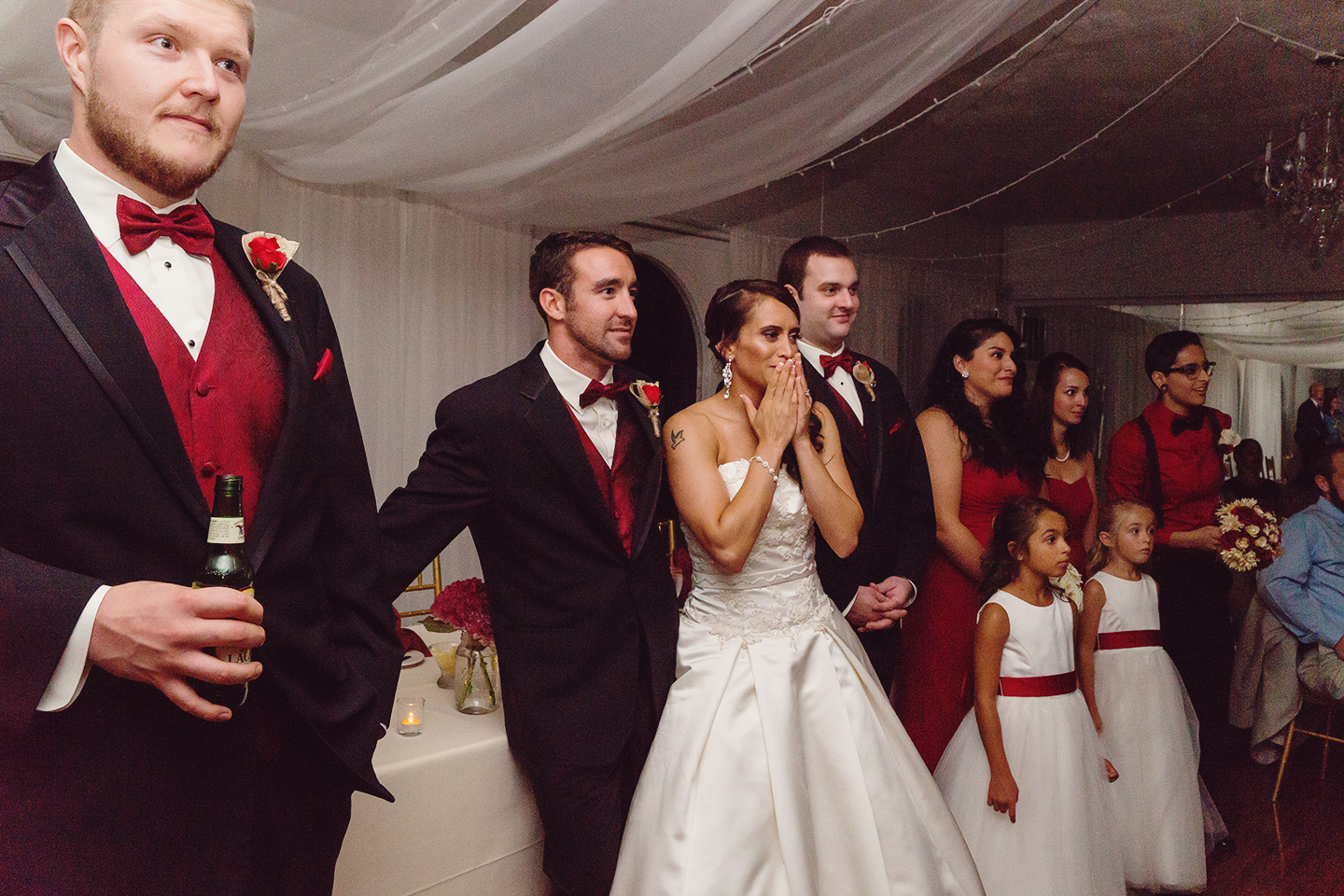 Bride surprised with video from brother in Afghanistan