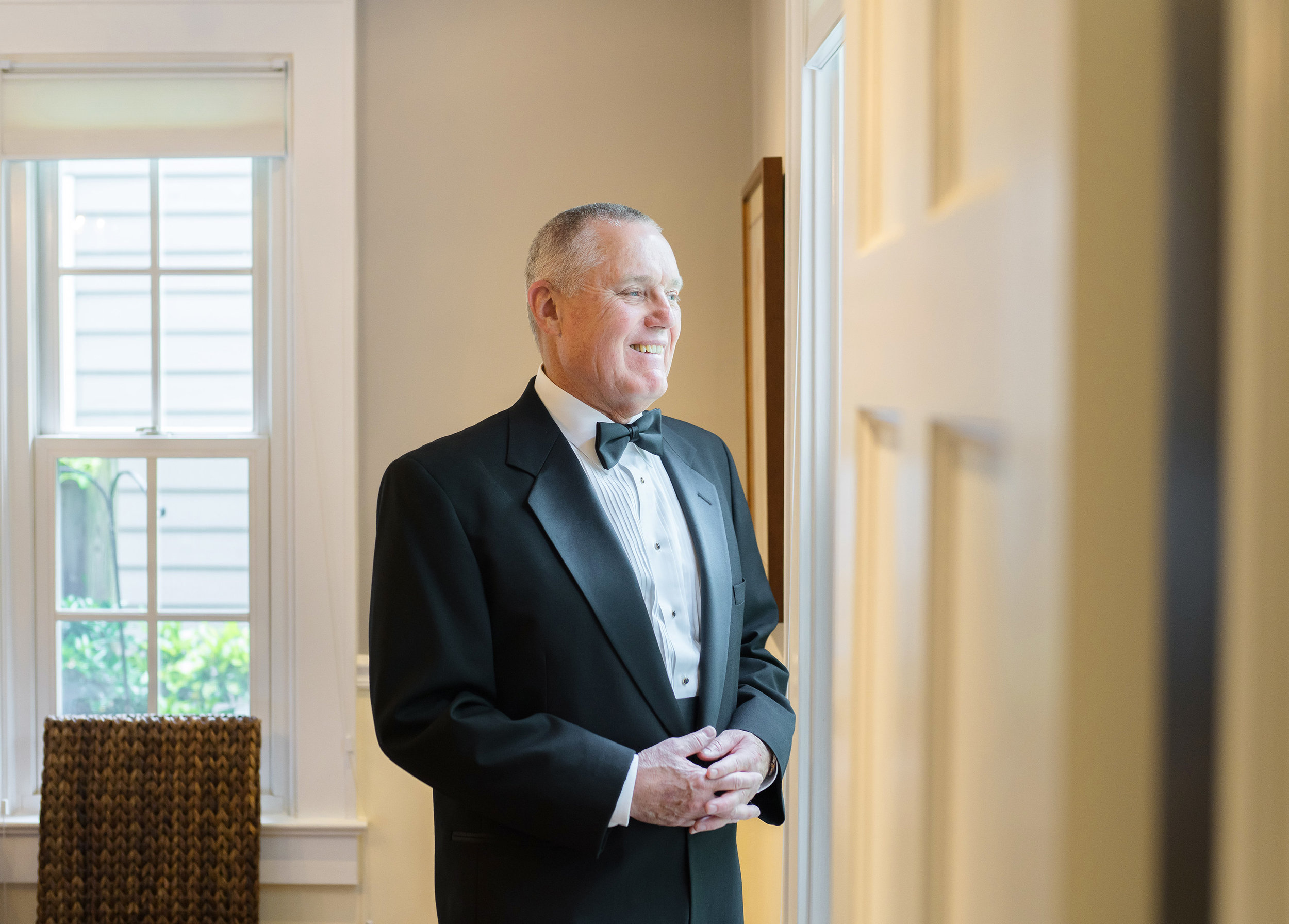 Father of the bride classic portraits in bethesda maryland