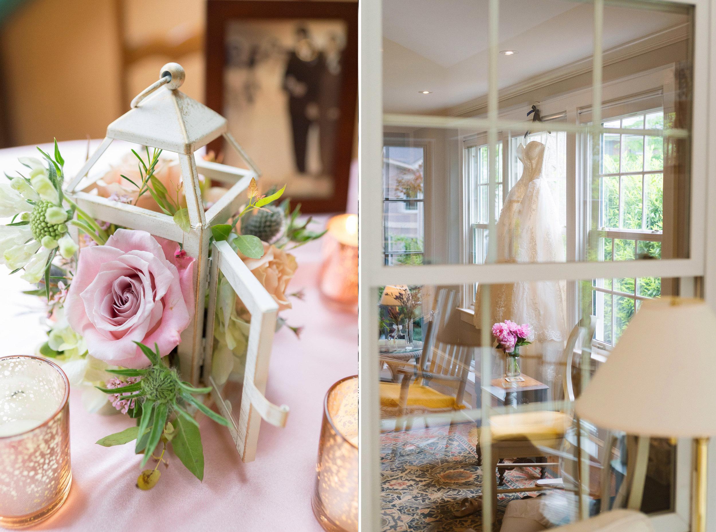 Beautiful wedding details in bethesda maryland