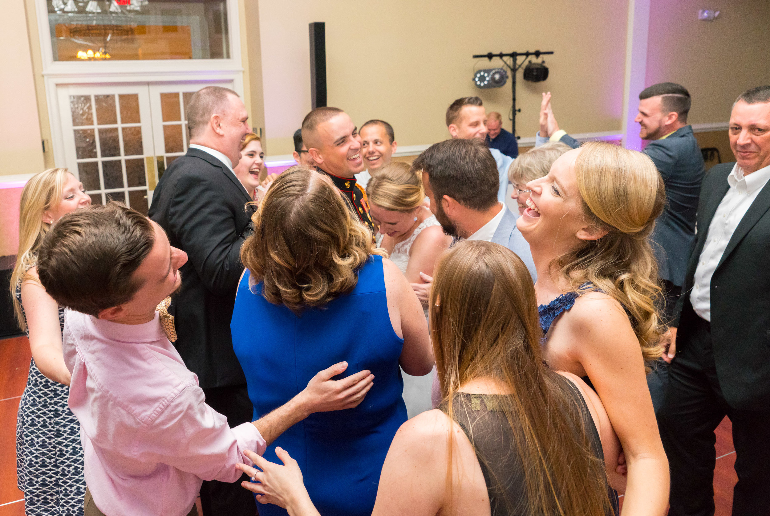 Candid wedding reception photography by jessica nazarova in maryland and virginia