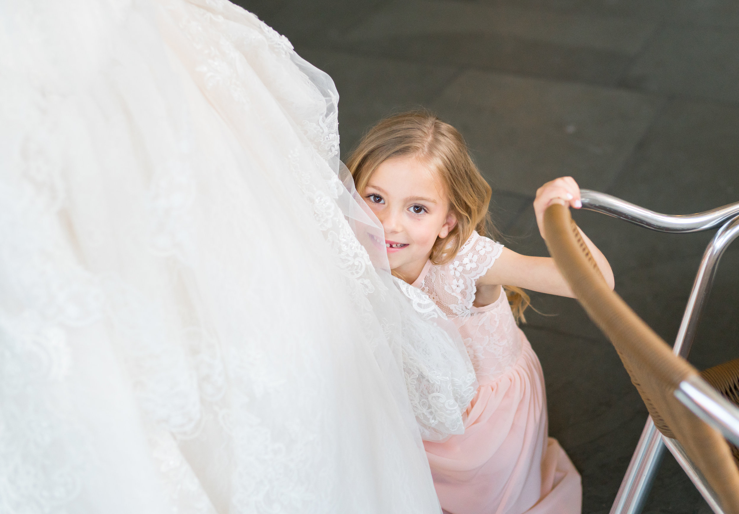 Mother daughter at bethesda wedding Oleg Cassini gown CWG749