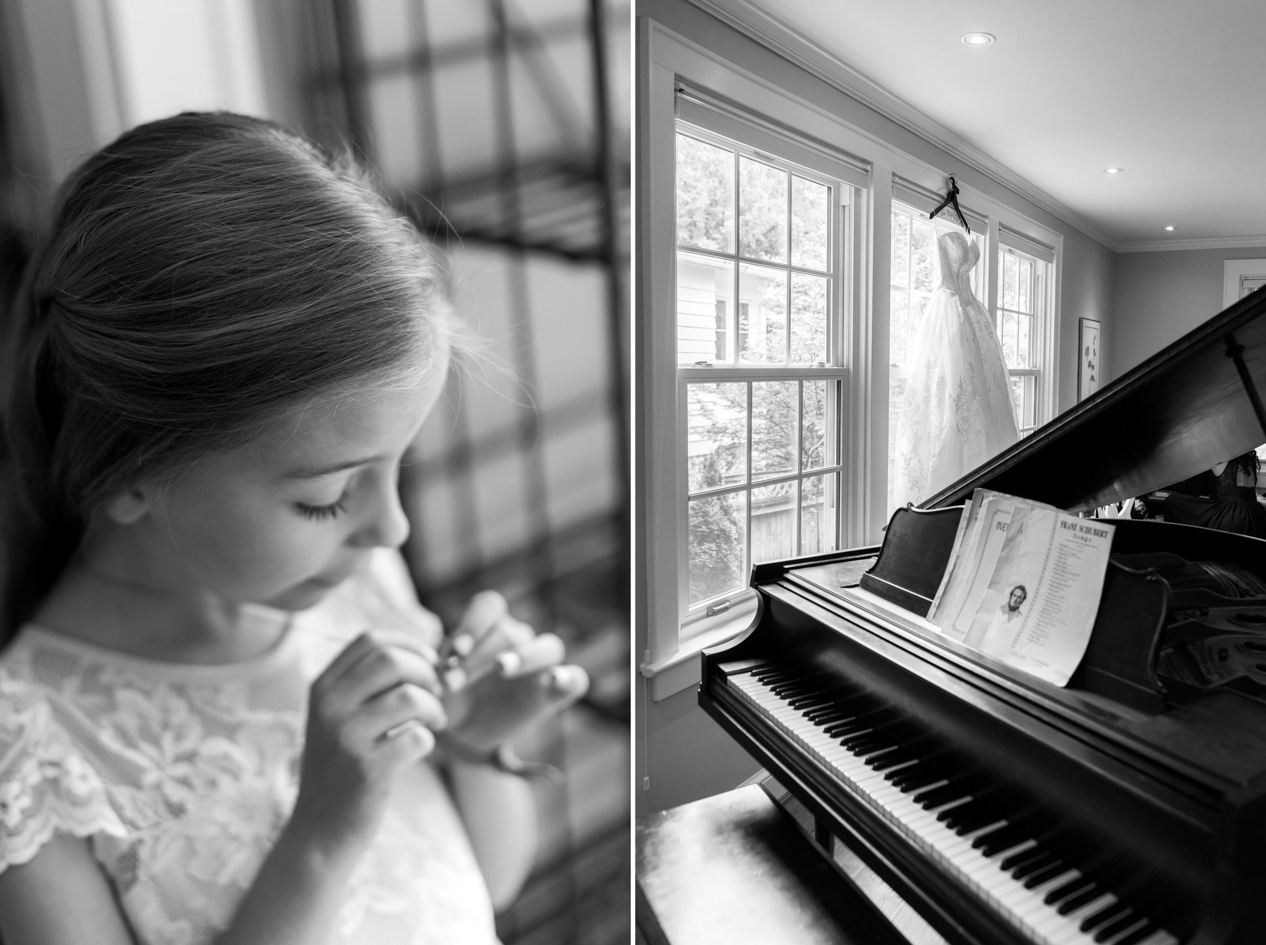 Wedding day at All Saints Church in Chevy Chase