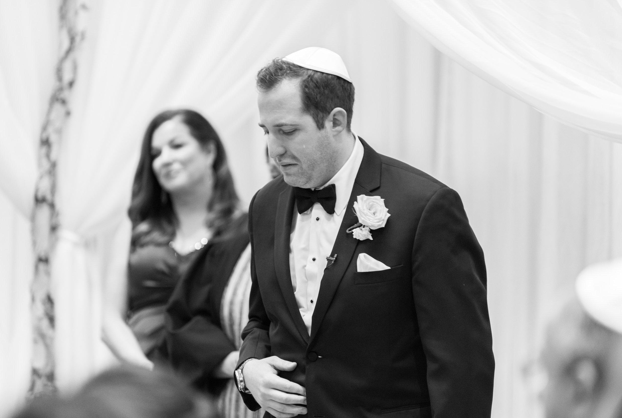 jewish wedding at hyatt regency ballroom