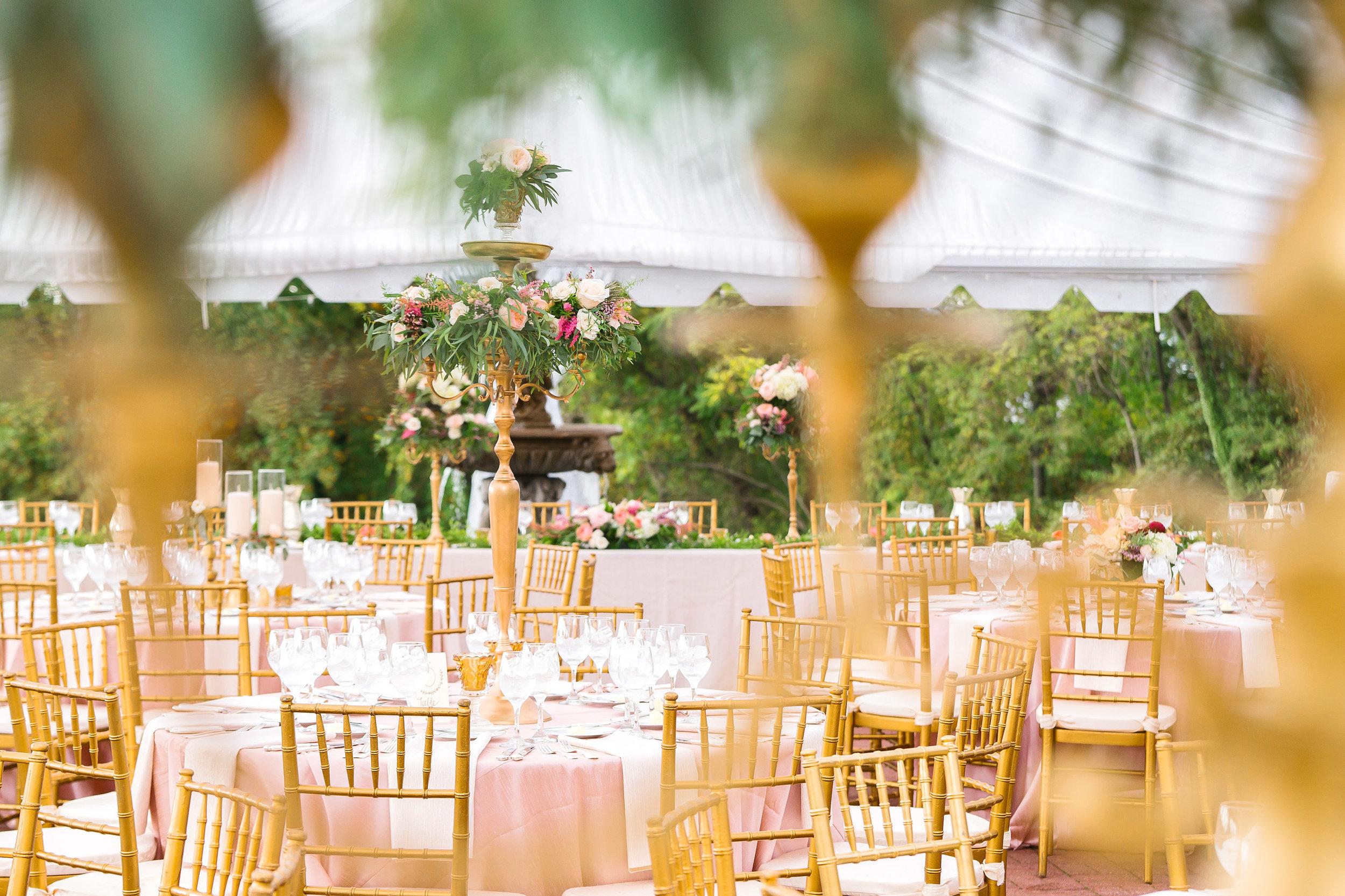 Wedding reception photos at Oxon Hill Manor by jessica nazarova