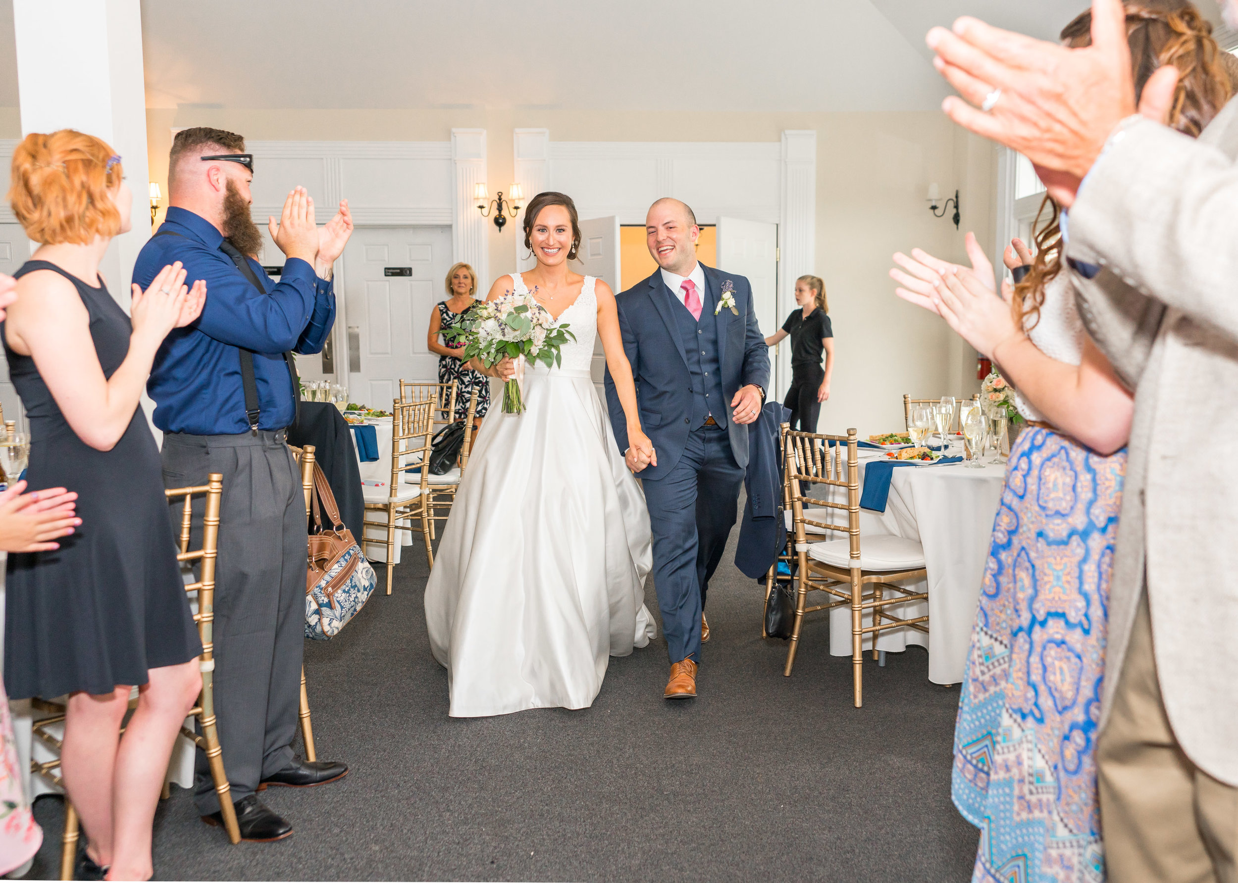 Wedding reception at Springfield Manor Winery and Distillery