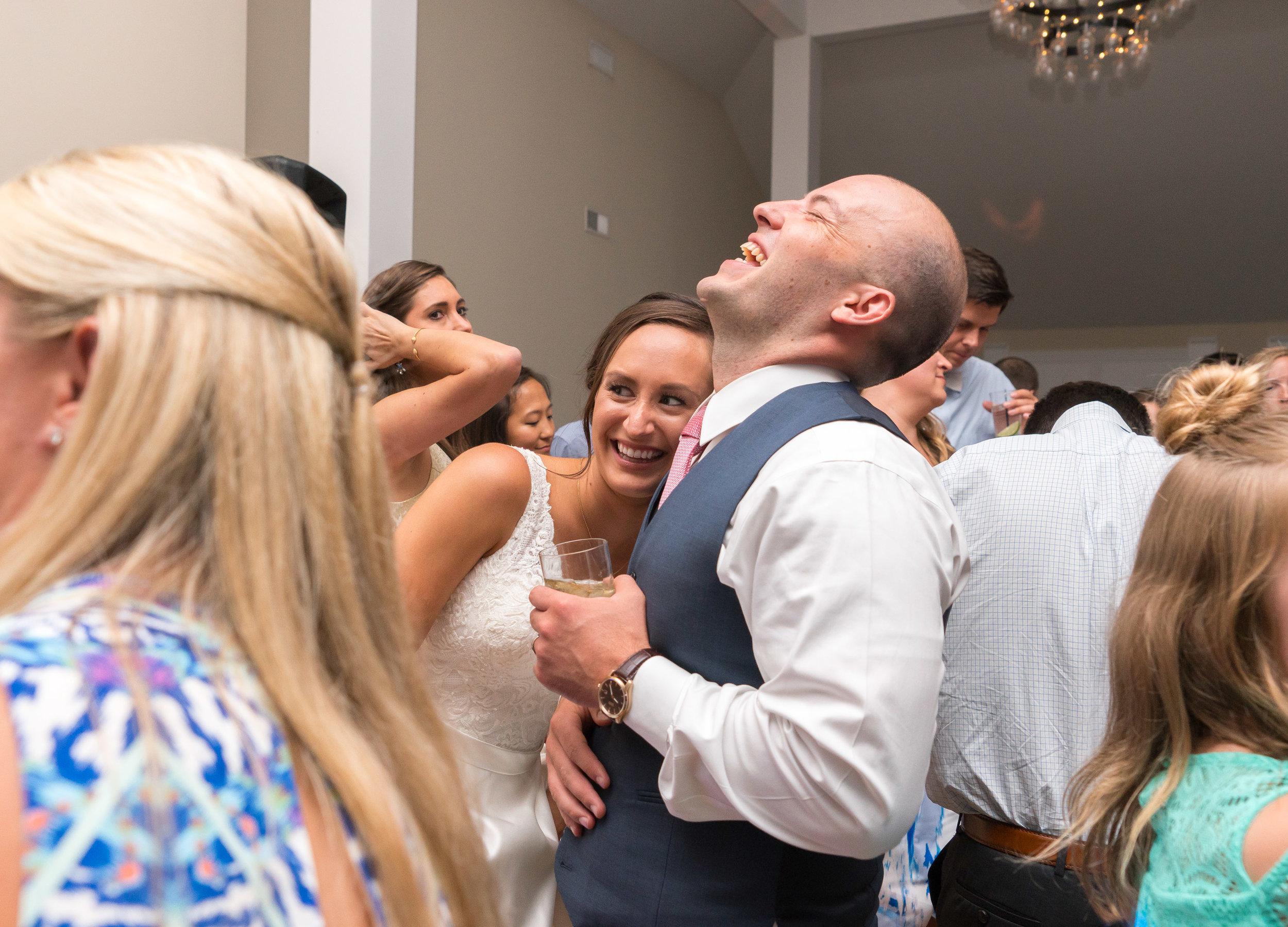 Dancing and wedding reception at Springfield Manor Winery