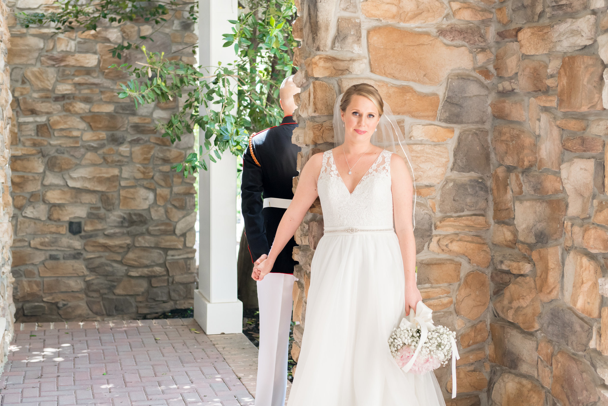 First look at Piedmont Club Private Events wedding